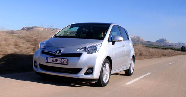 Essai Toyota Verso-S 1.3 VVT-i MultiDrive S : un ''S'' pour Spacieux
