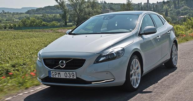 Essai Volvo V40 D4 177 ch Geartronic Momentum : l'originalité pour atout