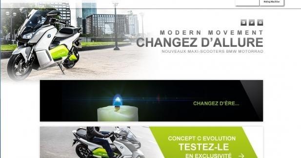 Le scooter électrique BMW bientôt proposé à l'essai à Marseille et Paris