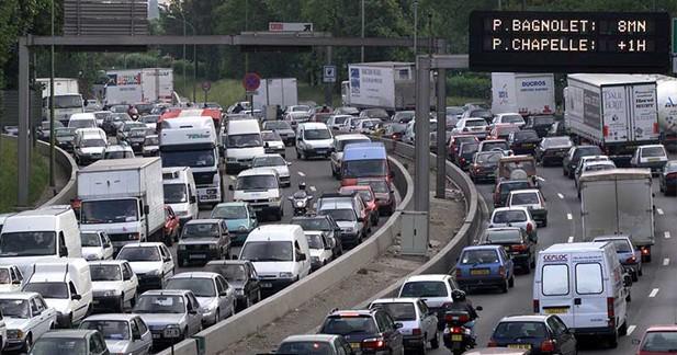 Les embouteillages coûtent 677 euros par an aux foyers français
