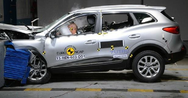 EuroNCAP: 5 étoiles pour le Renault Kadjar et l'Audi Q7