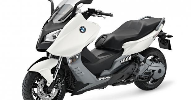 Evolutions légères pour les Maxiscooters BMW