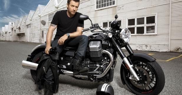 Ewan McGregor fan de Moto Guzzi, lance la California