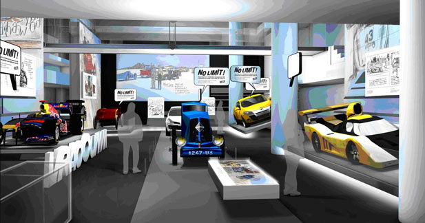 Les Champs Elysées accueillent les héros de l'Aventure Renault