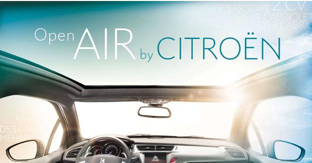Citroën met les cabriolets à l'honneur au C42