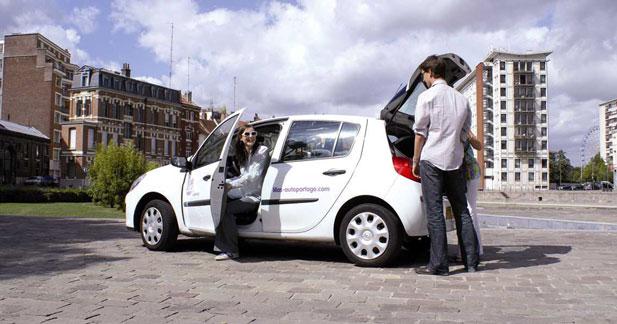 L'autopartage se développe à Lille