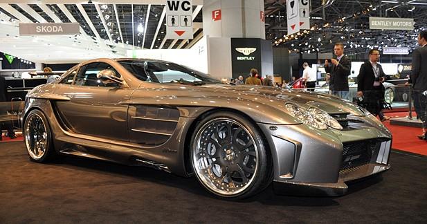FAB DESIGN Mercedes McLaren SLR : mutation génétique