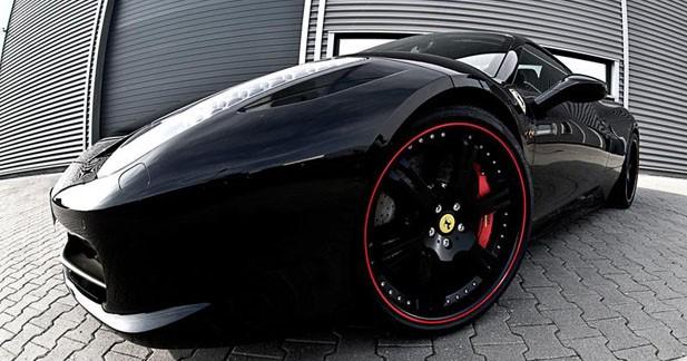 Wheelsandmore customise la Ferrari 458 Spider