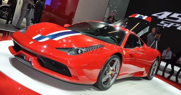 Ferrari 458 Speciale : L'héritière de la F430 Scuderia