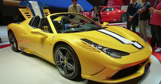 Mondial Auto 2014: Ferrari 458 Speciale A