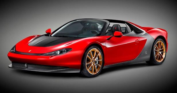 Ferrari Sergio : le cadeau de Noël de Pininfarina