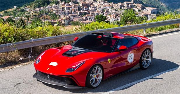 Ferrari F12 TRS, le dernier ''projet spécial'' de Maranello : Lointaine héritière de 250 Testa Rossa