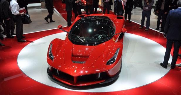Ferrari LaFerrari : une version Spider très exclusive ?