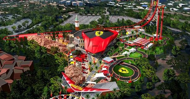 Coup d'accélérateur pour Ferrari Land