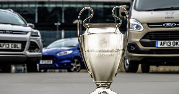 La Ford Fiesta et Ken Block s'invitent en Ligue des Champions