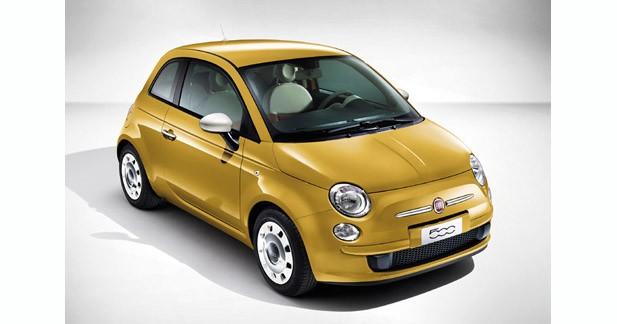 Fiat propose une nouvelle série limitée pour la 500