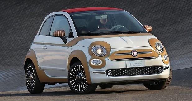 Du cuir sur la carrosserie pour le premier exemplaire de la Fiat 500