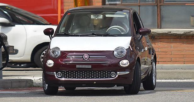 Spyshots : la nouvelle Fiat 500 aperçue presque sans camouflage