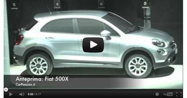 Indiscrétion : le mini SUV Fiat 500X déjà visible sur le web
