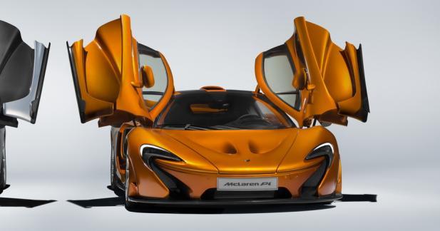 Voici la dernière McLaren P1 produite