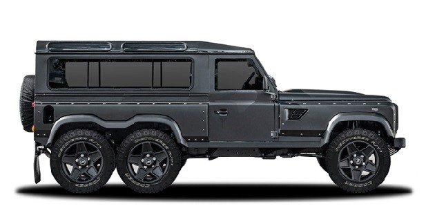 Land Rover Defender: six roues grâce à Kahn Design