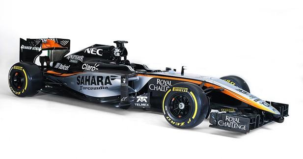 Formule 1 : Force India présente sa nouvelle livrée mais ratera son premier jour de classe