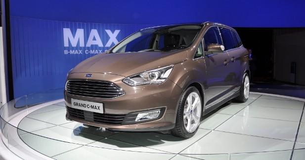 Mondial Auto 2014 : Ford C-Max restylé, en bonne et due forme