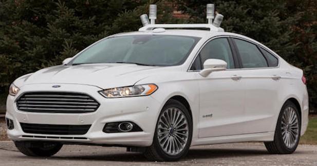 Ford présente sa voiture autonome