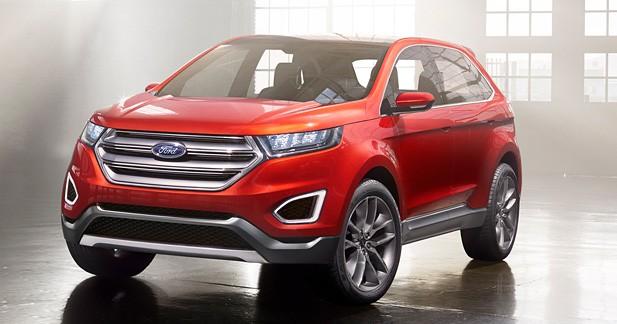 Ford Edge Concept : le grand SUV global de Ford se précise