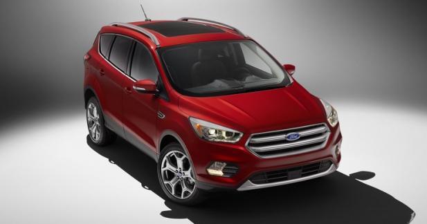 Le nouveau Ford Escape (Kuga) se dévoile à Los Angeles