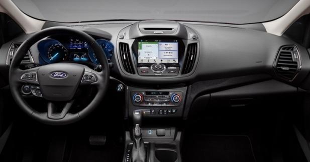 Premier modèle Ford équipé de SYNC Connect