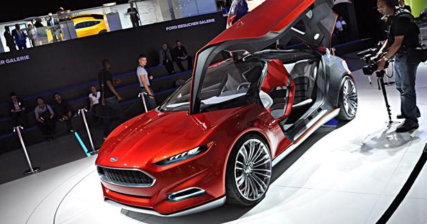 Ford Evos Concept : le nouveau visage de Ford