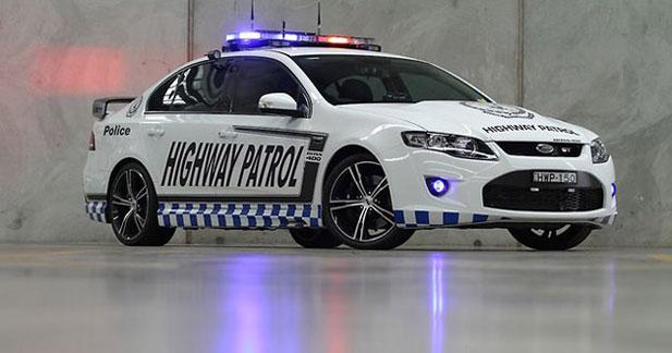 536 ch pour la Ford Falcon GT de la police australienne
