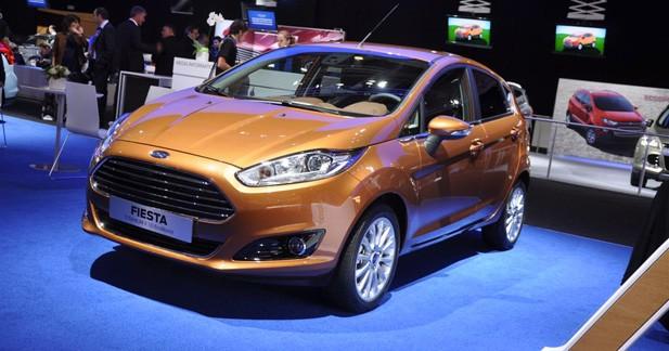 Ford Fiesta restyée : dynamique et intelligente