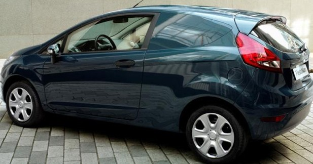 Ford Fiesta Van : travailler avec style