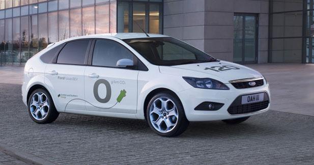 Ford Focus BEV Concept : Dans les rues courant 2011...