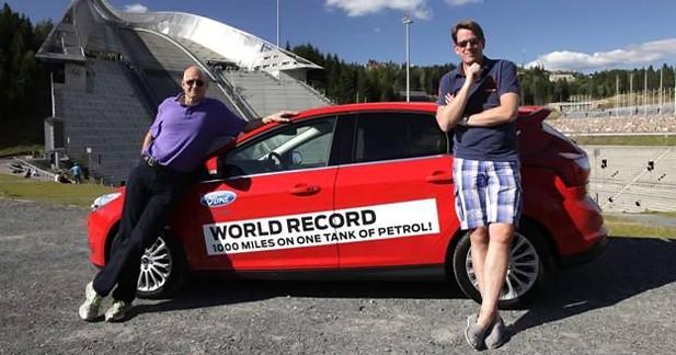 Ford Focus Ecoboost : 1 619 km avec un seul plein