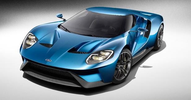 Detroit 2015: voici la nouvelle Ford GT de série!