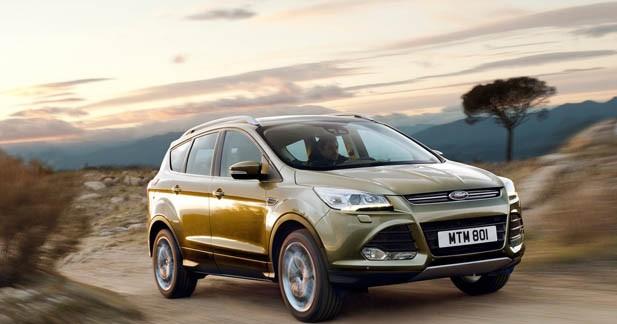 Le Ford Kuga 2 dévoile ses tarifs