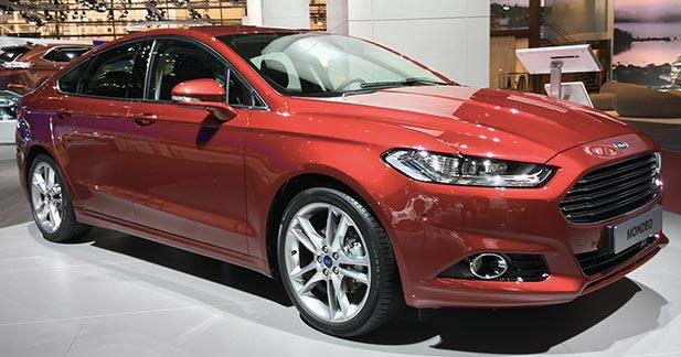 Mondial 2014 : enfin la nouvelle Ford Mondeo