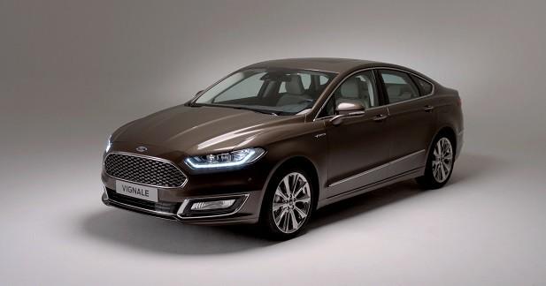Ford Mondeo Vignale: l'ovale à l'assaut du premium