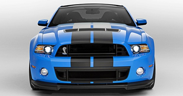Ford Mustang Shelby GT 500 : Gros bras