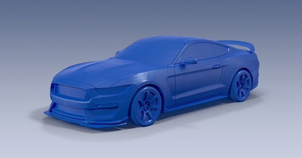 Imprimez votre propre Ford en 3D à domicile