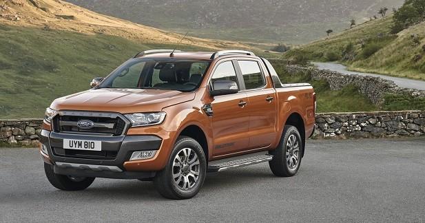 Ford Ranger restylé: il débarque en Europe