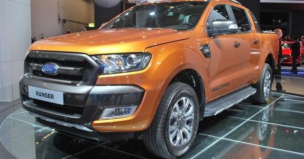 Ford Ranger restylé: plus viril et technophile