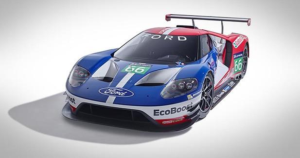 Ford confirme son retour au Mans avec la nouvelle GT