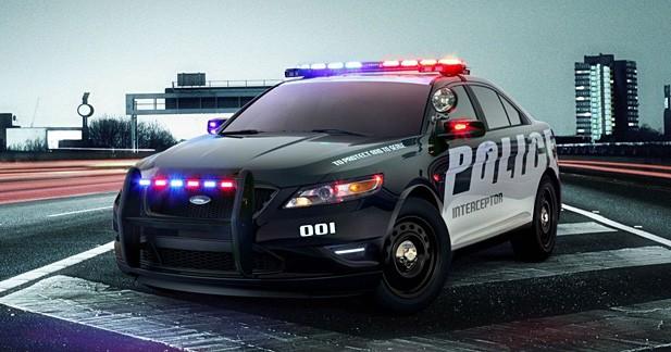 Ford Taurus Interceptor : au service de la police US