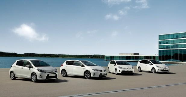 L'hybride en fête au sein du Groupe Toyota Europe
