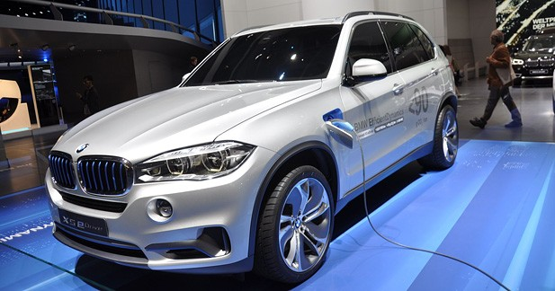 BMW Concept X5 eDrive : la voie de l'hybride plug-in