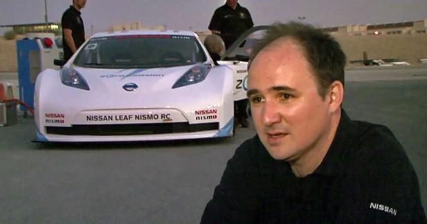Interview : François Crisias présente la Nissan Leaf Nismo RC